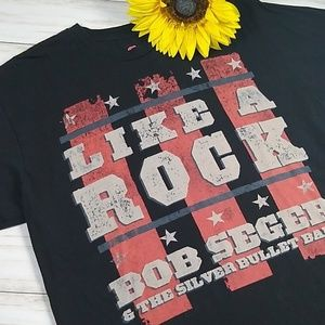 Hanes Shirts - NWOT Like a Rock 2011 Bob Seger Authentic Tour T